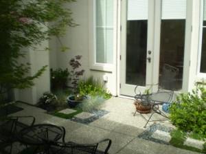 Spring Courtyard